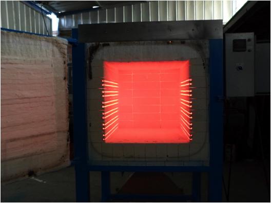 Hornos industriales el ctricos for Aislante termico para hornos